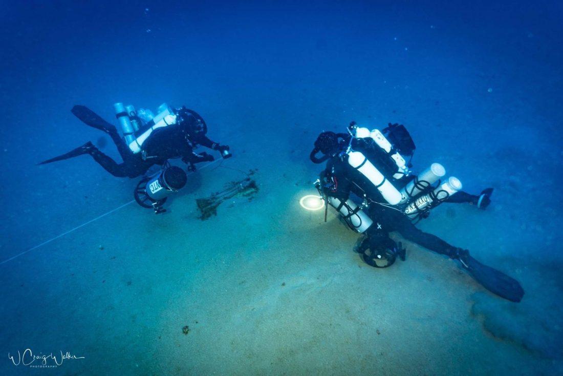 fasi del recupero subacqueo