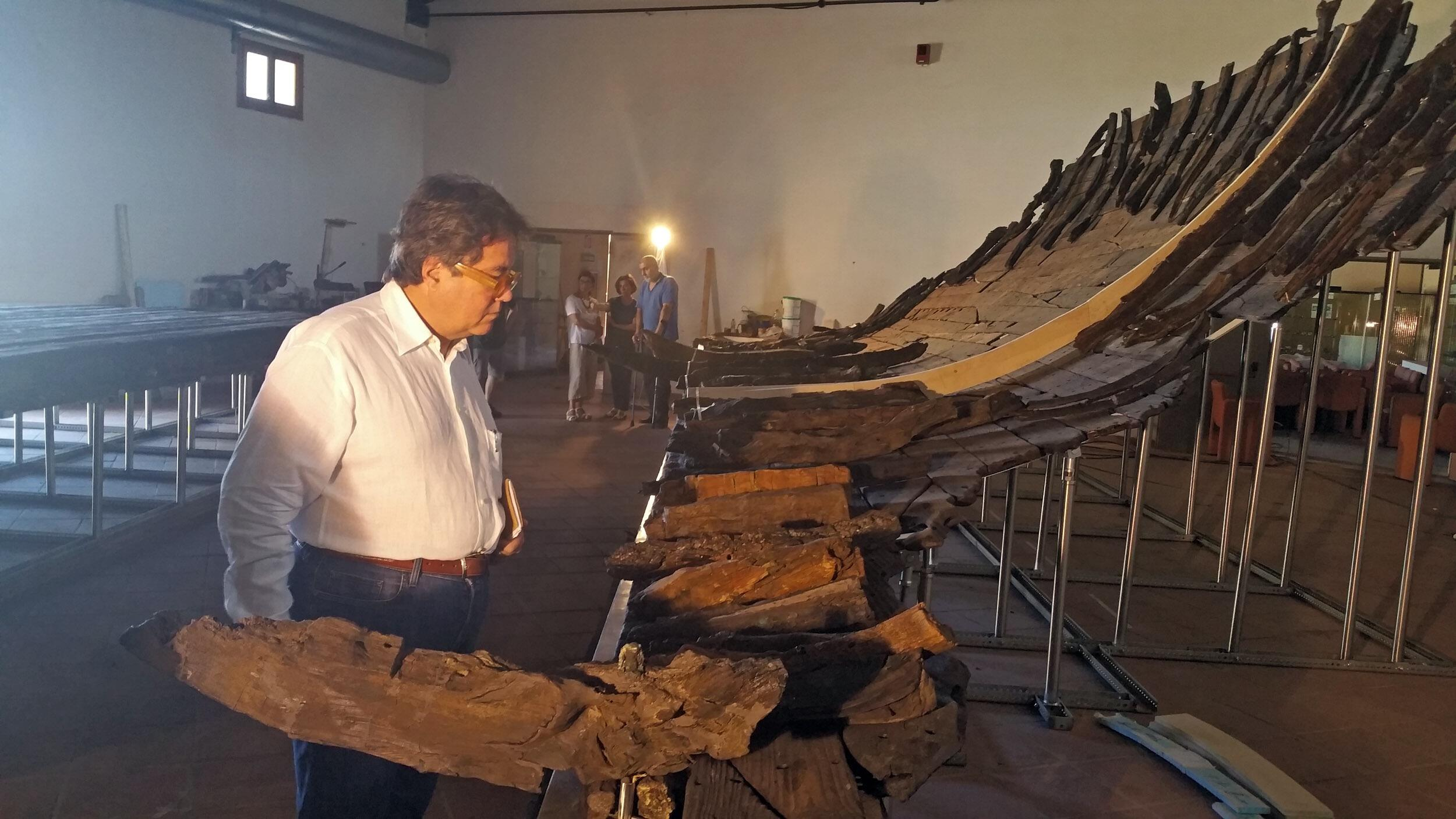 Marsala, domani si inaugura l'esposizione della nave romana di Marausa