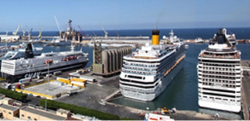 Porto di Palermo, dragaggio dei fondali per l'attracco delle grandi navi