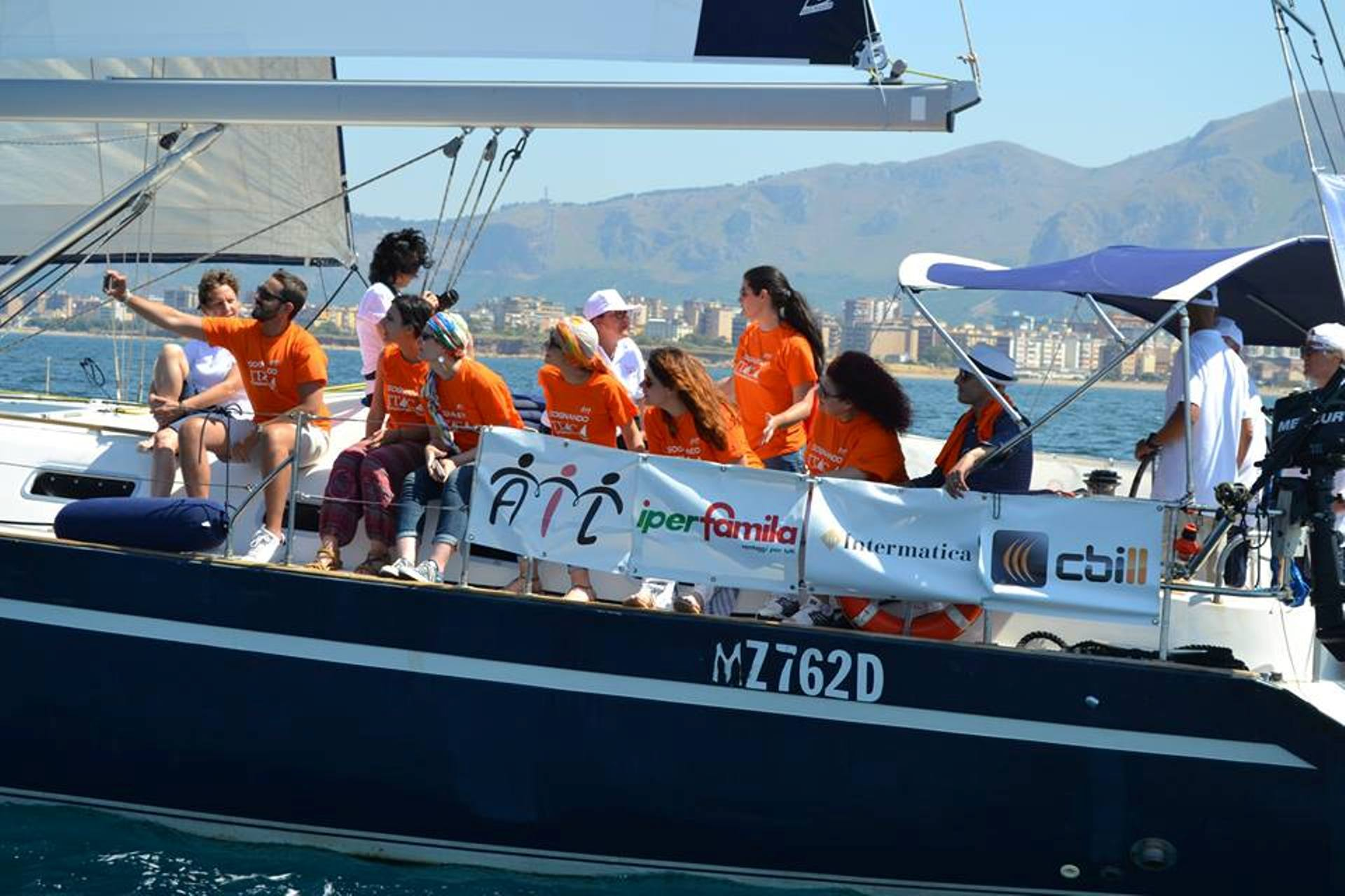 Itaca Day alla Cala di Palermo: lotta alla leucemia, la cura e la riabilitazione vanno in barca a vela
