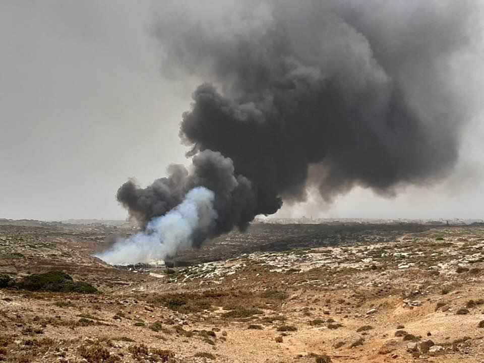 Lampedusa, fiamme in Centro raccolta rifiuti. Allarme di Legambiente