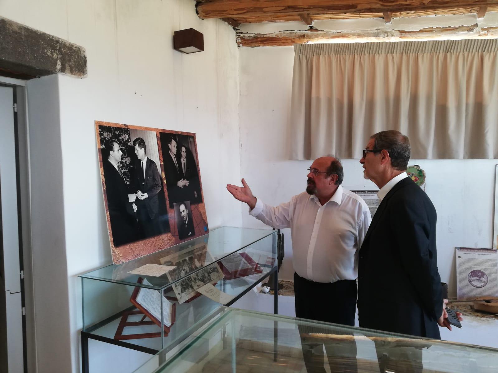 Musumeci a Salina, nasce la rete dei musei dell'emigrazione