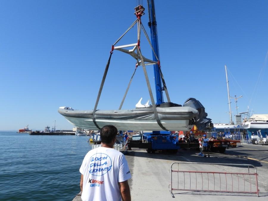 Al porto di Catania la presentazione del gommone Marecamp