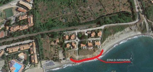 Calanovella, la spiaggia di Piraino