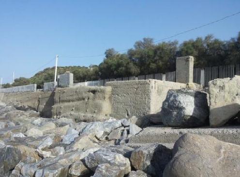 Erosione costiera: Messina,
